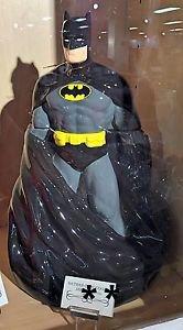 Six Flags Magic Mountain DC Batman Large Ceramic Cookie Jar New