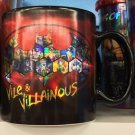 Six Flags Magic Mountain DC Batman Vile & Villainous Jumbo Prismatic Ceramic Mug