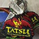 Six Flags Magic Mountain Attraction Tatsu Keyring Keychain New
