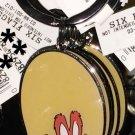 Six Flags Magic Mountain Looney Tunes Yosemite Sam Metal Keychain New