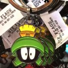 Six Flags Magic Mountain Looney Tunes Confused Marvin The Martian Metal Keychain