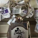 DISNEY PARKS DISNEYLAND MICKEY MOUSE ZINC ALLOY METAL KEYCHAIN NEW