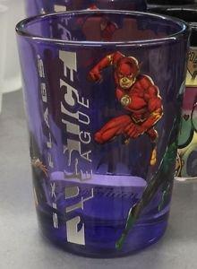 Six Flags Magic Mountain DC Justice League N52 Wonder Woman The Flash Shot Glass