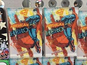 Six Flags Magic Mountain DC Hero Superman American Hero Acrylic Magnet New