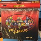 Six Flags Magic Mountain DC Batman Vile & Villainous Mousepad New
