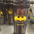 Six Flags Magic Mountain DC Batman 20oz. Black / Yellow Travel Tumbler Mug New