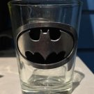 Six Flags Magic Mountain DC Batman Clear Shot Glass Toothpick Holder New