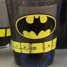 Six Flags Magic Mountain DC Batman Logo and Belt Shot Glass Toothpick Holder New