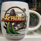 Six Flags Magic Mountain Twisted Colossus 16oz. Ceramic White Mug Cup New