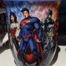 Six Flags Magic Mountain DC Justice League Wonder Woman Coaster Art Mug New