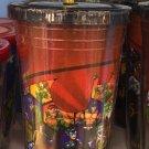 Six Flags Magic Mountain DC Batman Vile & Villainous Travel Tumbler w/ Straw New