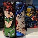 Six Flags Magic Mountain DC Justice League Multi Character Ceramic Mug New
