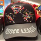 Six Flags Magic Mountain Justice League Adjustable Snapback Hat Cap New