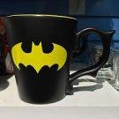 Six Flags Magic Mountain DC Batman Logo Dragon Handle Matte Finish Mug New