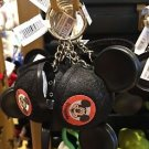 DISNEY PARKS DISNEYLAND MICKEY MOUSE EAR HAT KEYRING KEYCHAIN NEW WITH TAGS