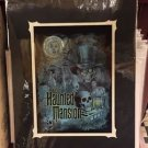 Disney Parks Haunted Mansion Hatbox Ghost Hitchhiking Ghost Madame Leota Print