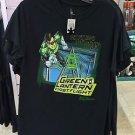 Six Flags Magic Mountain Green Lantern Ride Men's T-Shirt SIZE: S,M,L XL,XXL New