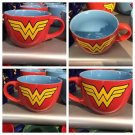 Six Flags Magic Mountain Justice League Wonder Woman 24oz Ceramic Mug / Bowl Cup