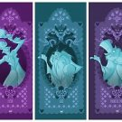 Disney WonderGround The Haunted Mansion Hitchhiking Ghost Deluxe Print Set New