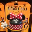 DISNEY PARKS EXCLUSIVE MINNIE MOUSE DUAL RINGER ACTION BICYCLE BELL NEW