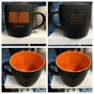 Six Flags Magic Mountain Goliath 12oz. Ceramic Black Mug Cup New