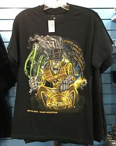 Six Flags Magic Mountain Twisted Colossus Ride Men's T-Shirt SIZE: S,M,L XL,XXL