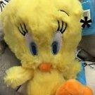 "Six Flags Magic Mountain Looney Tunes Baby Tweety Bird 8"" Mini Plush New"