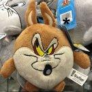 Six Flags Magic Mountain Looney Tunes Wile E Coyote Fat Mini Plush New