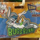 Six Flags Magic Mountain Looney Tunes Bugs Bunny PVC Magnet New