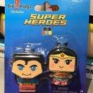 Six Flags Magic Mountain DC Superman & Wonder Woman Super Heroes Figo Series New