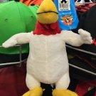 "Six Flags Magic Mountain Looney Tunes Foghorn 10"" Mini Plush New"