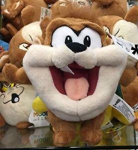 "Six Flags Magic Mountain Looney Tunes Baby Tasmanian Devil 8"" Mini Plush New"