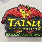 Six Flags Magic Mountain Attraction Tatsu Rubber Magnet New