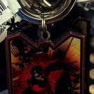 Six Flags Magic Mountain DC Red Robin Metal Keyring Keychain New