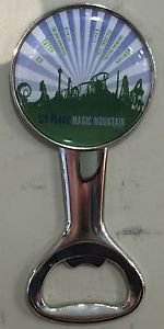 Six Flags Magic Mountain Attractions Bottle Opener / Magnet New