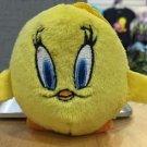 Six Flags Magic Mountain Looney Tunes Tweety Bird Plush Keychain New