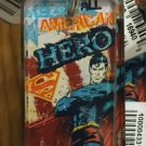 Six Flags Magic Mountain DC Superman American Hero Acrylic Keychain New
