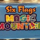 Six Flags Magic Mountain Multi Color Lettering Acrylic Magnet New