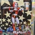 Six Flags Magic Mountain DC Harley Quinn Star Magnet New