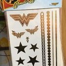 Six Flags Magic Mountain DC Wonder Woman Temporary Tattoo Accessories New