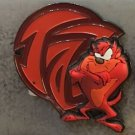 Six Flags Magic Mountain Looney Tunes Red Tasmanian Devil Magnet New