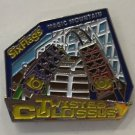 Six Flags Magic Mountain Twisted Colossus Motion Metal Magnet New
