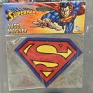 Six Flags Magic Mountain DC Justice League Superman Shield Car Auto Magnet New