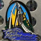 Six Flags Magic Mountain Full Throttle Motion Metal Magnet New