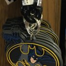 Six Flags Magic Mountain DC Justice League Batman Logo Carabiner Keychain New