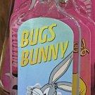 Six Flags Magic Mountain Looney Tunes Bugs Bunny Acrylic Keychain New