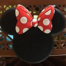 DISNEY PARKS EXCLUSIVE MINNIE MOUSE EAR MAGNET WITH POLKA DOT BOW NEW