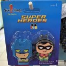Six Flags Magic Mountain DC Batman and Robin Super Heroes Figo Series1 New