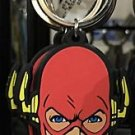 Six Flags Magic Mountain DC Justice League The Flash Rubber* Keychain New