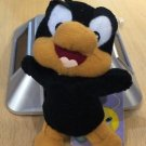 Six Flags Magic Mountain Looney Tunes Baby Daffy Duck Plush Keychain New